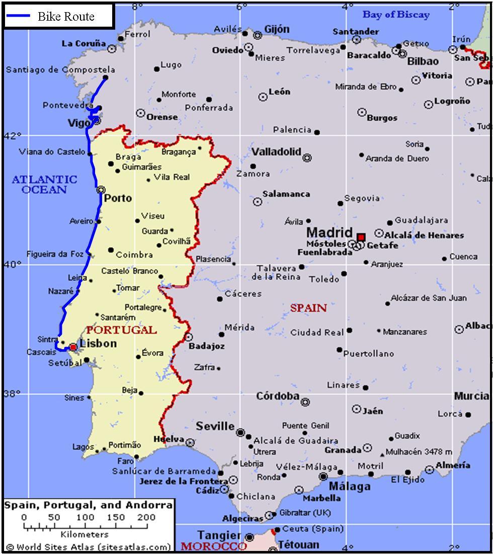 European Tour 2006 I Portugal Spain